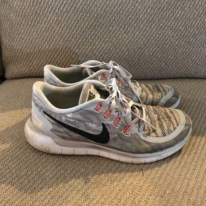 GUC Men's Nike Free RN 5.0 shoes in camo